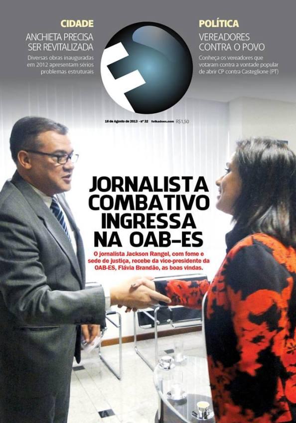 Capra da Revista/FOLHA que circula domingo (25)