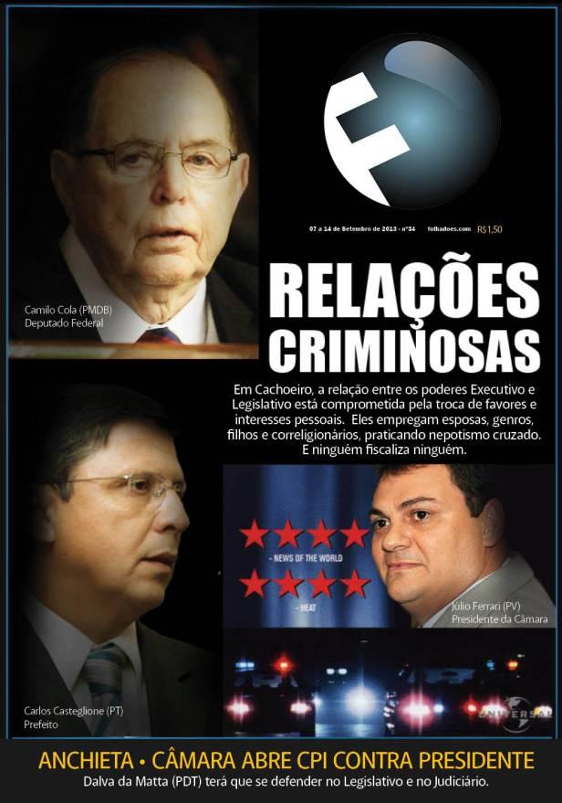 Capa da Revista/FOLHA que circula amanhã (8)