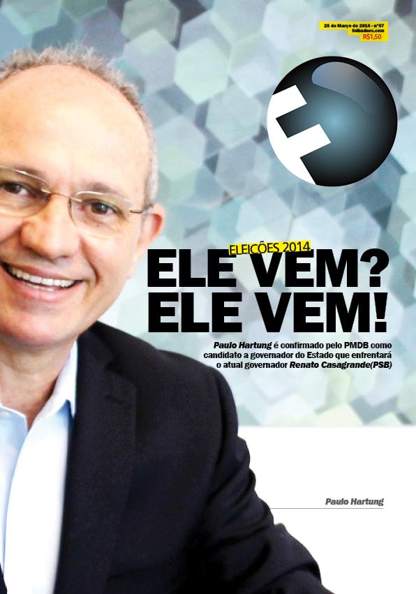 Ex-governador anuncia na sede do PMDB, 12, sua candidatura. A FOLHA já sabia!