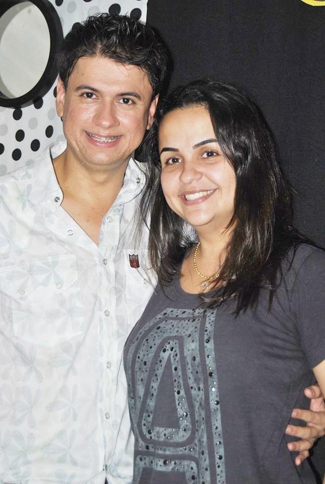 Luciano Ribeiro e Amanda Quinta